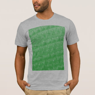 Camiseta de American Apparel (cabida)