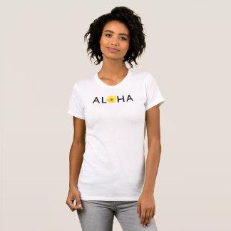 Camiseta de American Apparel de la hawaiana