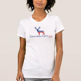 Camiseta de American Apparel de las mujeres de la