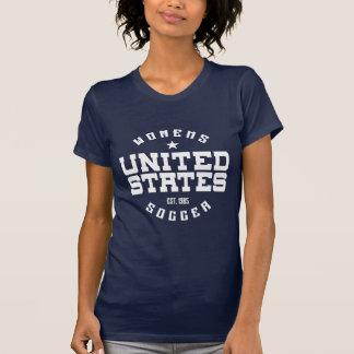 Camiseta de American Apparel del fútbol de Estados