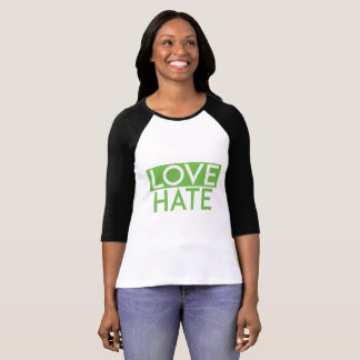 Camiseta de amor y odio