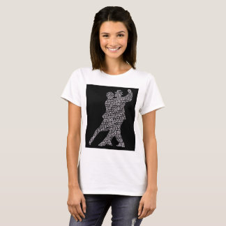 Camiseta de Annabel Lee Typograph
