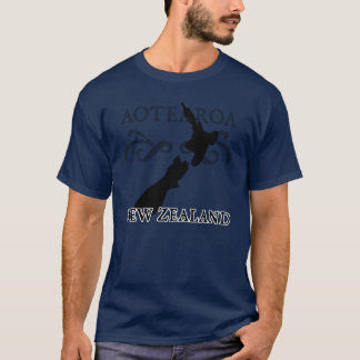 Camiseta de Aotearoa Nueva Zelanda