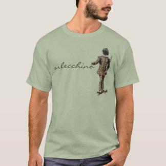 Camiseta de Arlecchino del dell'Arte de Commedia