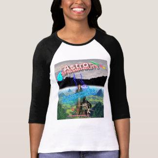 Camiseta de Astro-Shamanauts (el #1) de la mujer
