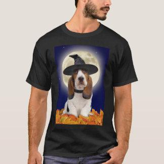 Camiseta de Basset Hound Halloween