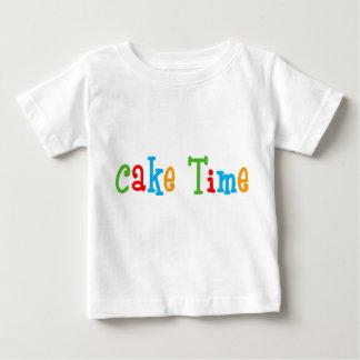 Camiseta de Bday del Tiempo de la torta