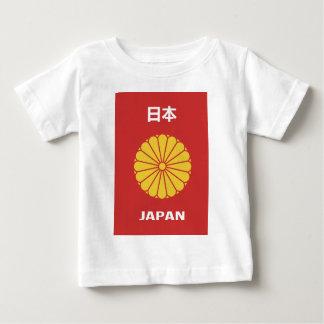 Camiseta De Bebé - 日本 - tenedor japonés Japón del pasaporte del