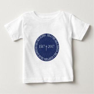 Camiseta De Bebé 1517-2017 aniversario protestante de la reforma