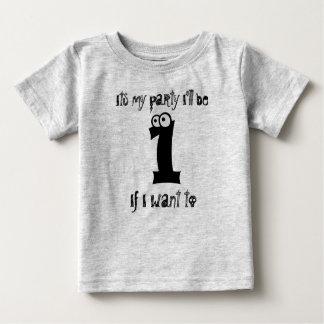Camiseta De Bebé 1 cumpleaños