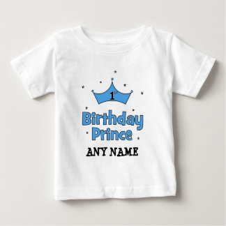 Camiseta De Bebé 1r Príncipe del cumpleaños