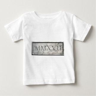 Camiseta De Bebé 2017 mármoles MMXVII
