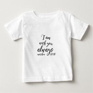 Camiseta De Bebé 28:20 de Matthew