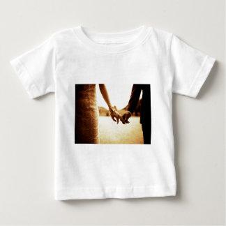 Camiseta De Bebé 35mm black and white sepia toned analog