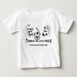 Camiseta De Bebé 3 ratones ciegos