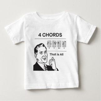 Camiseta De Bebé 4 acordes