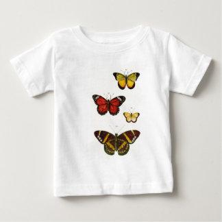 Camiseta De Bebé 4 mariposas