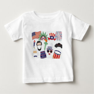 Camiseta De Bebé 4to del día de fiesta de julio - Día de la