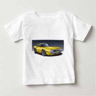 Camiseta De Bebé 67_68_Firebird_Yellow