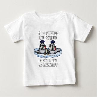 Camiseta De Bebé A la BRIGADA de los MORSES no hay MANCO