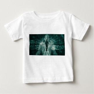 Camiseta De Bebé Abarcamiento de la nueva tecnología del futuro