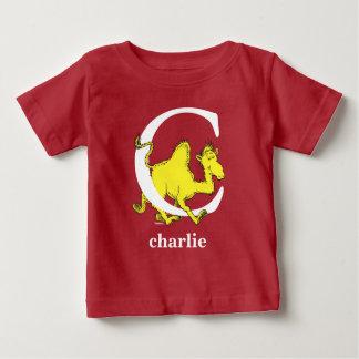 Camiseta De Bebé ABC del Dr. Seuss: Letra C - El blanco el | añade