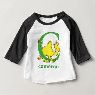 Camiseta De Bebé ABC del Dr. Seuss: Letra C - El verde el   añade