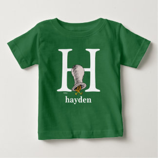 Camiseta De Bebé ABC del Dr. Seuss: Letra H - El blanco el | añade