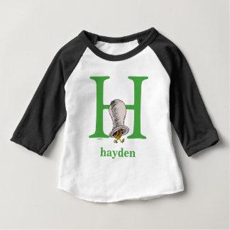 Camiseta De Bebé ABC del Dr. Seuss: Letra H - El verde el | añade