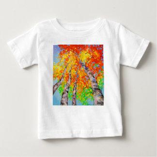 Camiseta De Bebé Abedul divino