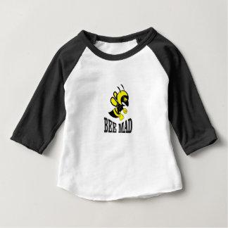Camiseta De Bebé abeja enojada de la abeja