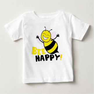 Camiseta De Bebé Abeja feliz