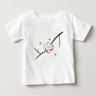 Camiseta De Bebé Abejas de la magnolia y de la miel