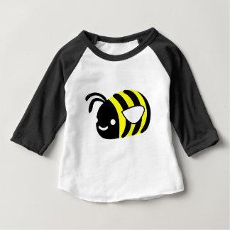 Camiseta De Bebé Abejorro lindo del vuelo