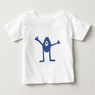 Camiseta De Bebé Abrazo de la O.N.U del quiere del monstruo del EL