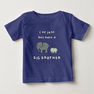 Camiseta De Bebé Acabo de hacer un HERMANO MAYOR