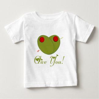 Camiseta De Bebé ¡Aceituna usted!