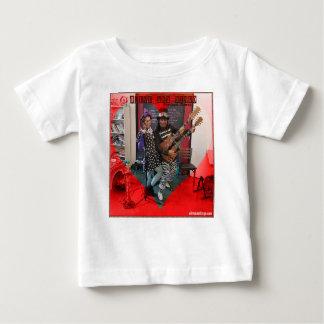 Camiseta De Bebé Aceituna y Dingo, diversión amando a los payasos