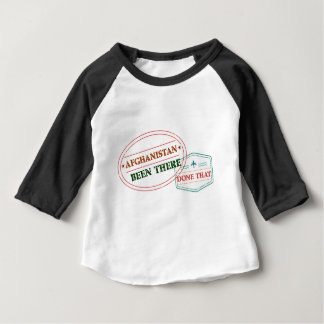 Camiseta De Bebé Afganistán allí hecho eso