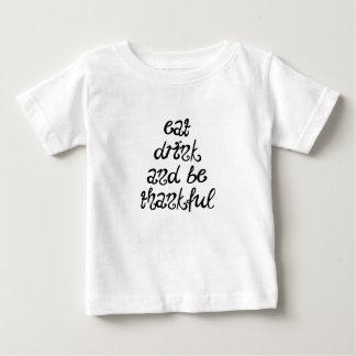 Camiseta De Bebé Agradecido