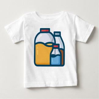 Camiseta De Bebé Agua del jugo de la soda