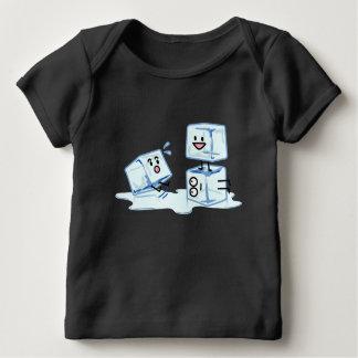 Camiseta De Bebé agua helada del cubo de los cubos de hielo que