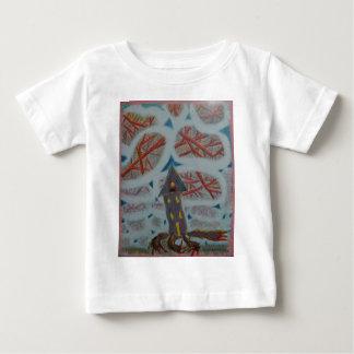 Camiseta De Bebé Agujeros azules