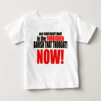 Camiseta De Bebé ahora banish las relaciones prohibidas de la