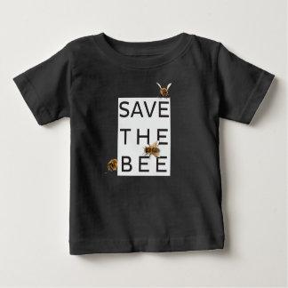 Camiseta De Bebé ¡Ahorre la abeja! ¡Ahorre el mundo! Abeja