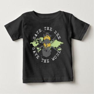 Camiseta De Bebé ¡Ahorre la abeja! ¡Ahorre el mundo! Colección del