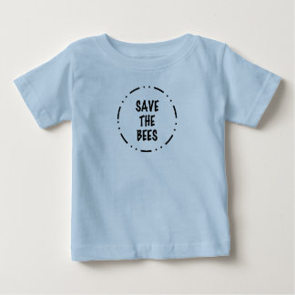 Camiseta De Bebé Ahorre las abejas