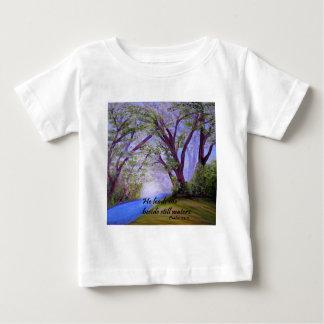 Camiseta De Bebé Al lado de las aguas inmóviles