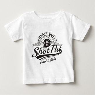 Camiseta De Bebé alas lanzamiento de peso
