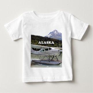 Camiseta De Bebé Alaska: Avión del flotador, lago 3 trail